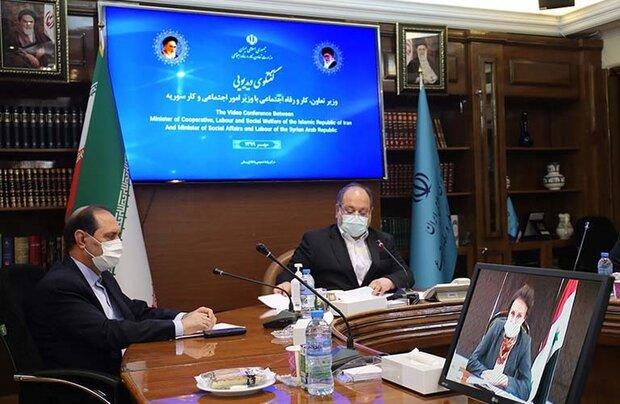 Iran, Syria discuss development of bilateral coop.
