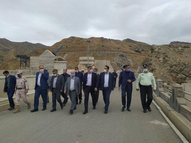 İran Meclisi Ulusal Güvenlik Komisyonu Azerbaycan sınırında