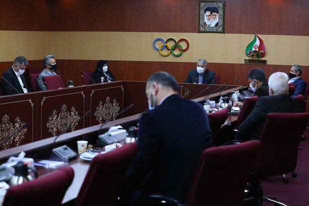 برگزاری هیات اجرایی کمیته ملی المپیک بعد از سه هفته