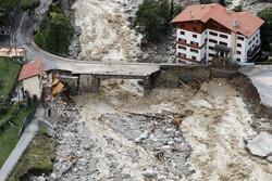فرانس اور اٹلی میں طوفان اور سیلاب