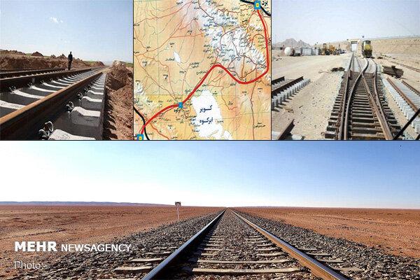 اتصال جنوب غرب به شمال شرق با قطار اقلید- یزد/ وعده افتتاح در۱۴۰۰