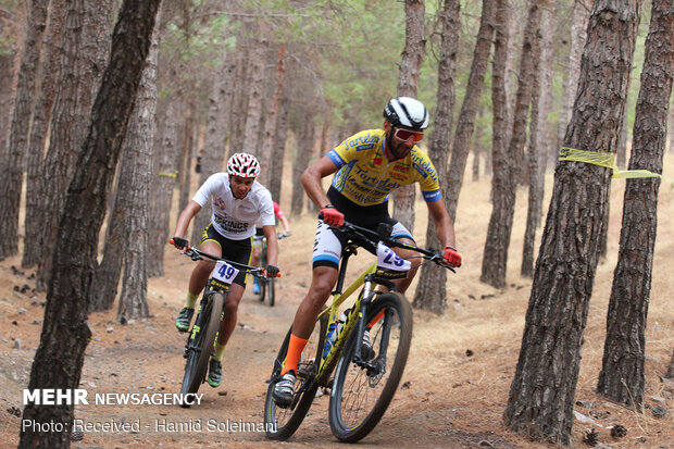 Iran's Mountain Bike League competitions