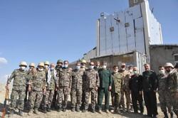 بازدید مدیران ارشد استان قزوین از مناطق عملیاتی شمالغرب