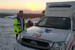 تکنسین اورژانس آذربایجانشرقی در حین امدادرسانی جان باخت
