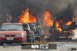 VIDEO: Blast in Syria leaves 7 dead, 30 injured