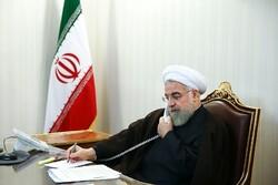 روحاني يهنئ نظيره الطاجيكي بإعادة انتخابه رئيساً لجمهورية طاجيكستان