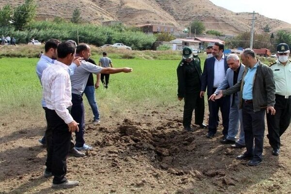 Defense minister reacts to shells hitting NW Iran