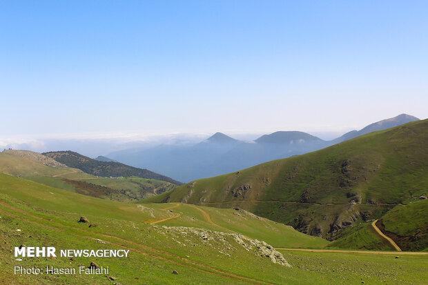İran'ın doğa cennetinden manzaralar