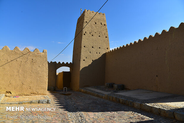 Historical village of Gharneh in Isfahan