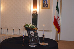 بزرگداشت سردار سلیمانی در بیشکک/انتقام سخت حق ایران است