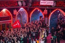 Irak'ta İmam Hüseyin (a.s) için matem töreni