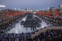 Shias in Karbala holding Arbaeen rituals