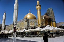 ممنوعیت اقامه نماز جماعت و برپایی جشن در حرم امام علی(ع)