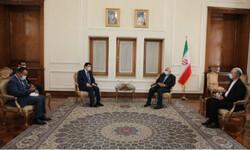 وزير الخارجية الإيراني يستقبل السفير السوري في طهران