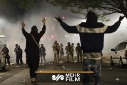 VIDEO: US police pepper sprays protesters in Portland