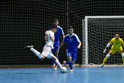 بازی تیم ملی فوتسال ایران و ازبکستان
