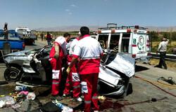 ۴۷۶ نفر طی شش ماه در تصادفات جاده های اردبیل دچار حادثه شده اند