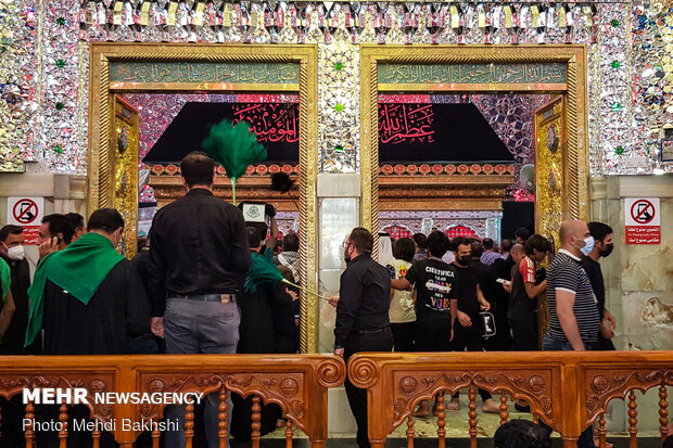 Imam Ali (PBUH) Holy Shrine in Najaf Ashraf on eve of Arbaeen