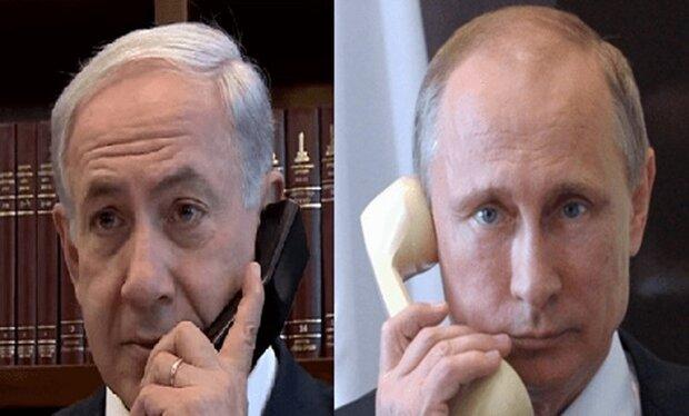 Putin, Netanyahu discuss Iran, Syria over phone