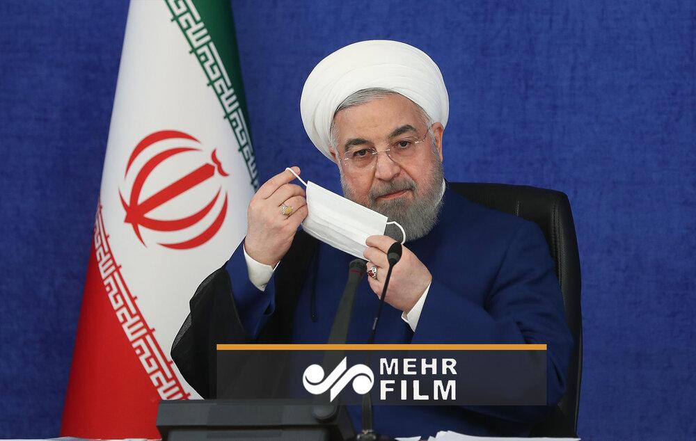 واکنش روحانی به حضور قالیباف در ICU