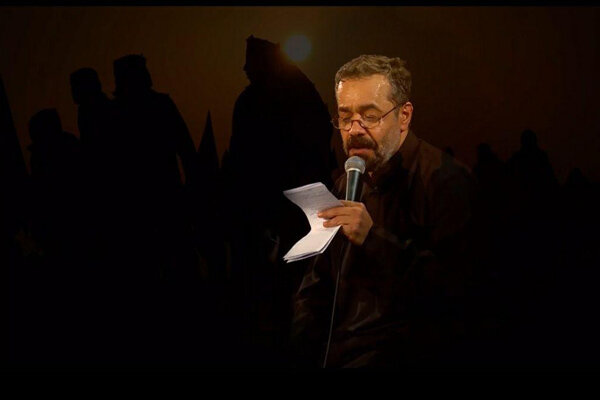 مرثیه خوانی محمود کریمی در مراسم تشییع پیکر حجت الله کسری