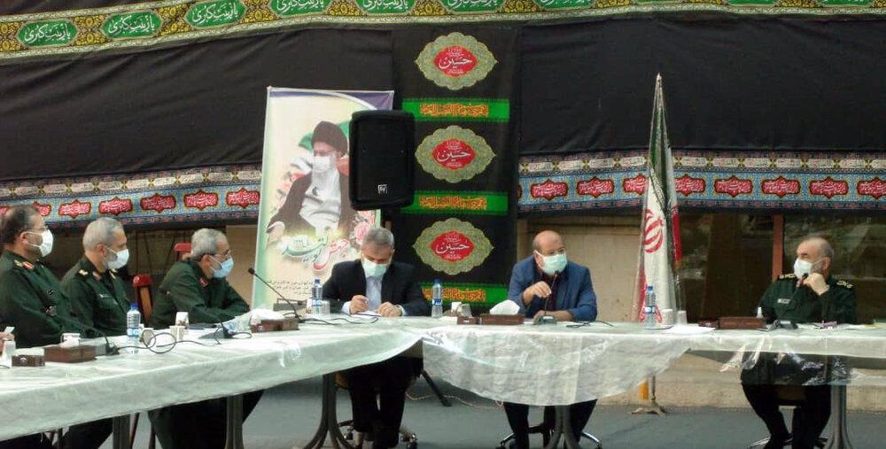 جلسه مشترک ستاد کرونا تهران و سپاه برگزار شد