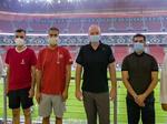 شگفتی رئیس فیفا از پیشرفت قطر در ساخت استادیومهای جام جهانی
