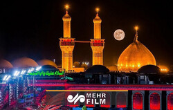 حال و هوای بین الحرمین در شب اربعین حسینی