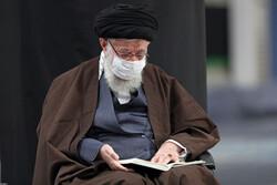Tahran'daki İmam Humeyni (ra) Hüseyniyesi'nde Erbain matem töreni