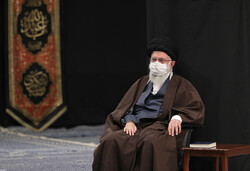 Leader at recitation ceremony of Arbaeen supplications