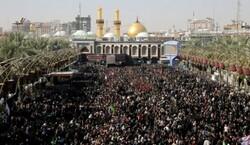 7000 متطوع يشارك في خدمة الزائرين بمرقد الامام الحسين (ع) خلال زيارة الاربعين