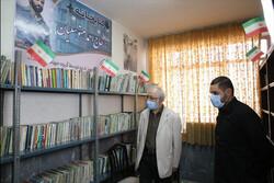 پنجمین کتابخانه گروه جهادی شهدا به نام احمد متوسلیان افتتاح شد