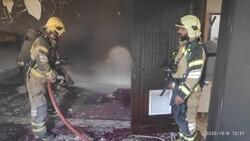 وقوع آتش سوزی در خوابگاهی در خیابان باهنر/ یک نفر جان باخت