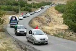 برگزاری رژه خودرویی عاشقان سیدالشهدا(ع) دردماوند بهمناسبت اربعین
