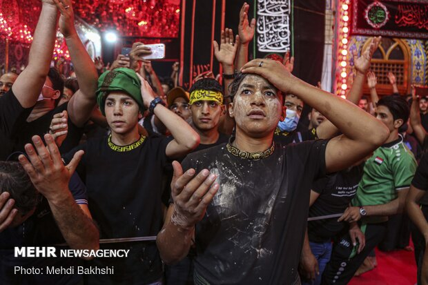 Arbaeen mourning in Karbala