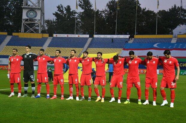 İran Milli Futbol Takımı Türkiye'de