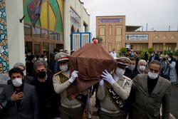 Ünlü sanatçı Şeceryan'ın cenaze töreninden fotoğraflar