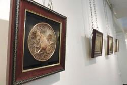 برگزاری نمایشگاه نگارههای فلزی