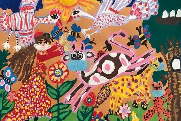 طفلان ايرانيان يحصلان على المركز الأول بمسابقة الرسم الدولية لليونيسيف