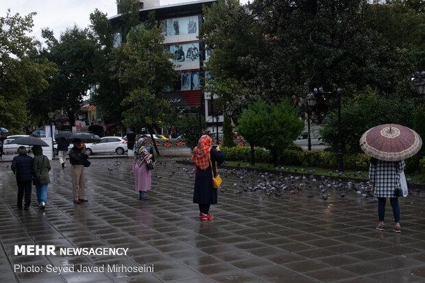 Rain freshens up Rasht