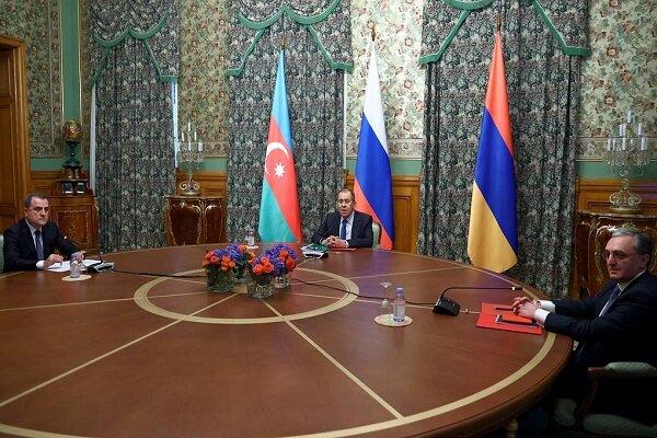 Russian, Armenian, Azerbaijani FMs hold talks in Moscow
