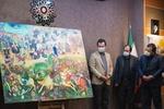 فروش نقاشی قهوهخانهای به مبلغ یک میلیارد تومان برای ساخت مدرسه