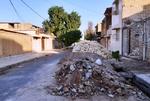 خیابانهای دزفول در تسخیر مصالح و نخالههای ساختمانی