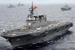 ژاپن سه رزمناو به دریای چین جنوبی فرستاد
