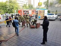 جزئیات آتش سوزی در ایستگاه مترو اکباتان/ حادثه مصدومی نداشت