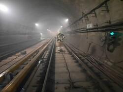 ایستگاه مترو اکباتان فعلا تعطیل است