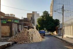 خیابان سبلان در منطقه ۱۹ تهران بهسازی شد