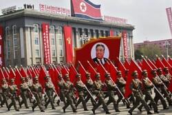 ارتش کره شمالی رژه بامدادی برگزار کرد