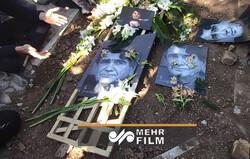 محمدرضا شجریان در آرامگاه ابدی به خاک سپرده شد