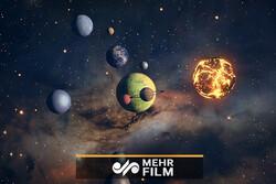 شبیه سازی ناسا از برخورد دو سیاره